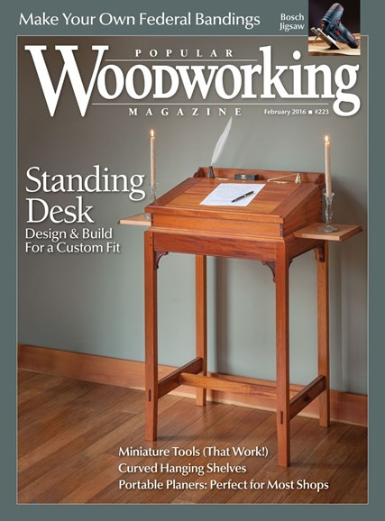 Popular Woodworking Cover - 1/1/2016