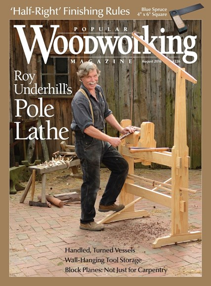 Popular Woodworking Cover - 7/1/2016