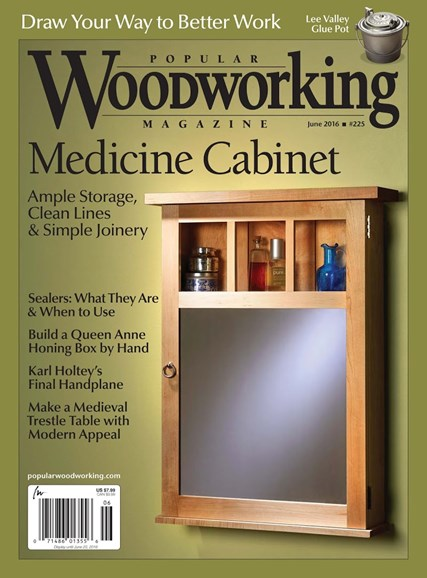 Popular Woodworking Cover - 5/1/2016