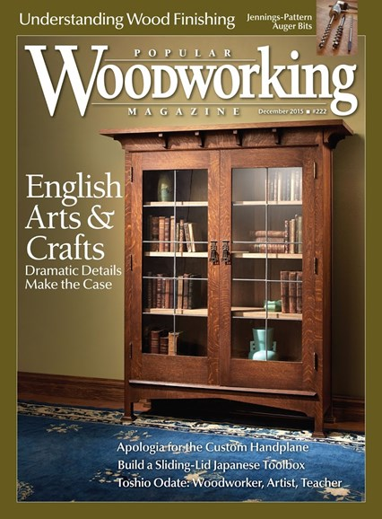 Popular Woodworking Cover - 12/1/2015