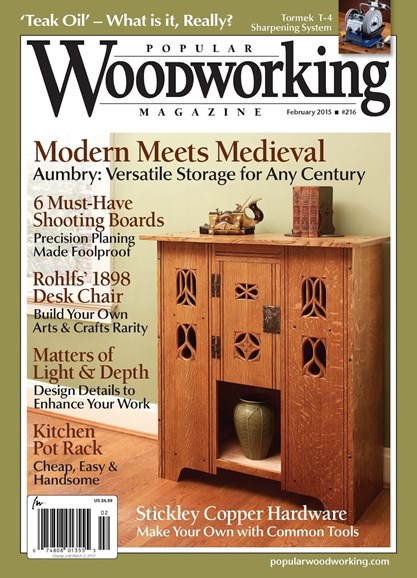 Popular Woodworking Cover - 1/1/2015