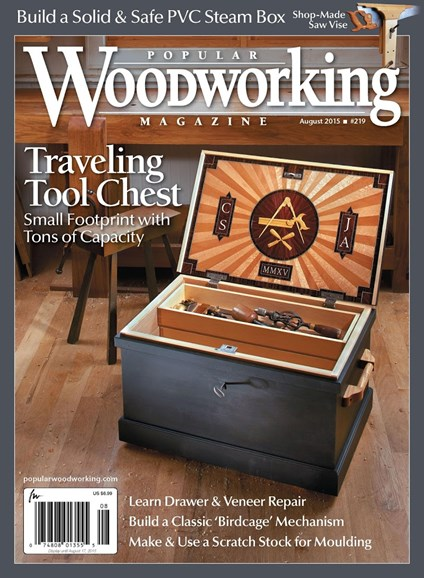 Popular Woodworking Cover - 7/1/2015