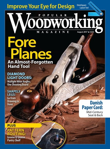 Popular Woodworking Cover - 7/1/2017