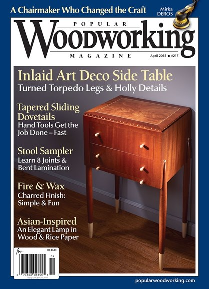 Popular Woodworking Cover - 3/1/2015