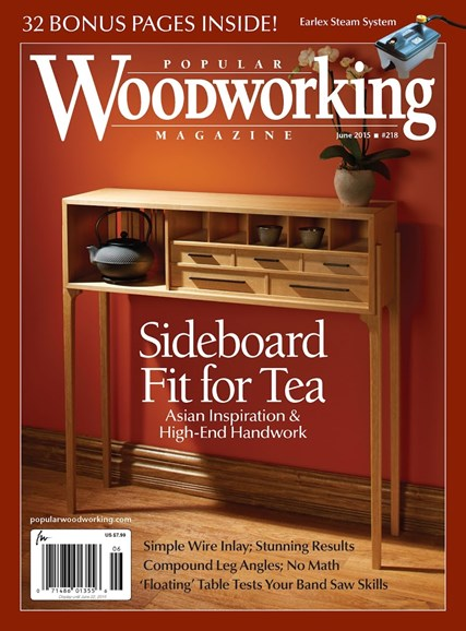 Popular Woodworking Cover - 5/1/2015