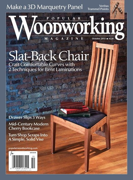 Popular Woodworking Cover - 9/1/2015