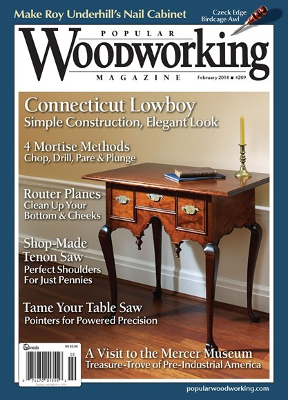 Popular Woodworking Cover - 1/1/2014