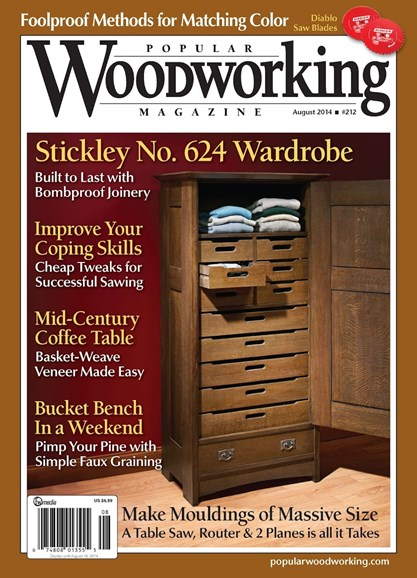 Popular Woodworking Cover - 7/1/2014
