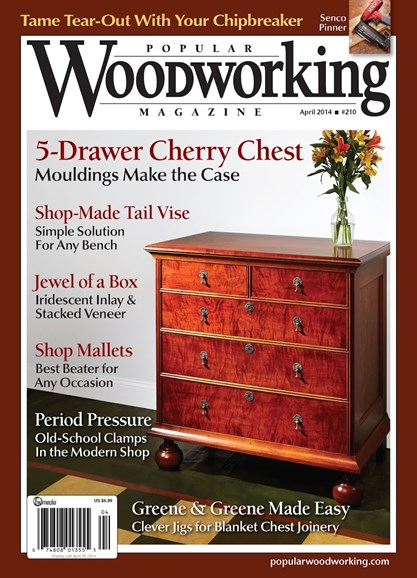 Popular Woodworking Cover - 3/1/2014