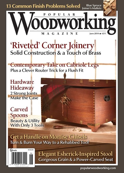 Popular Woodworking Cover - 5/1/2014