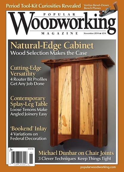 Popular Woodworking Cover - 11/1/2014
