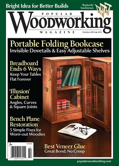 Popular Woodworking Cover - 9/1/2014