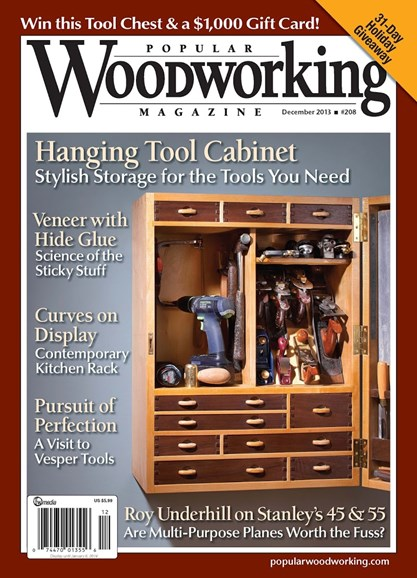 Popular Woodworking Cover - 12/1/2013