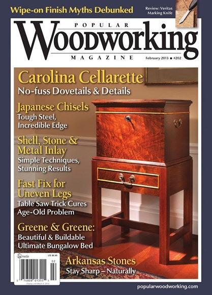 Popular Woodworking Cover - 1/1/2013