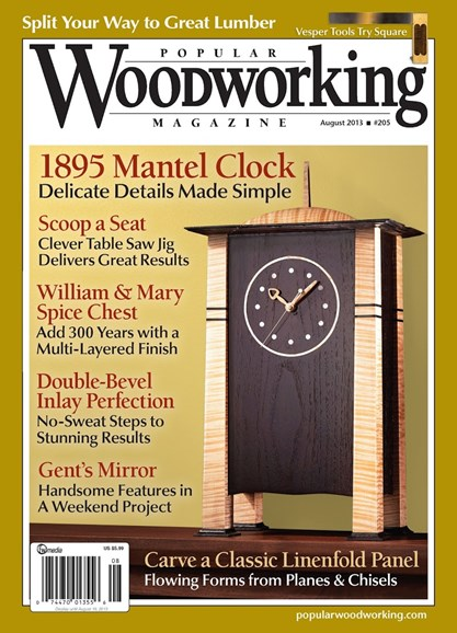 Popular Woodworking Cover - 7/1/2013