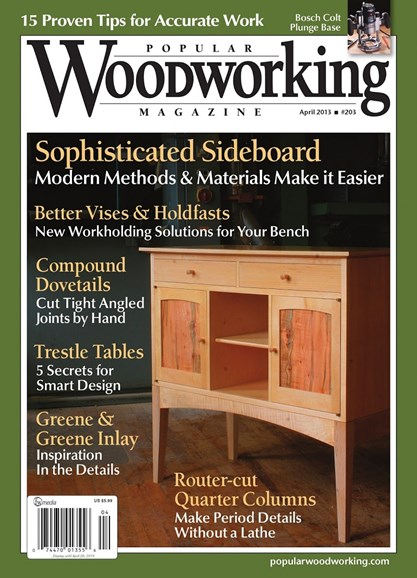 Popular Woodworking Cover - 3/1/2013