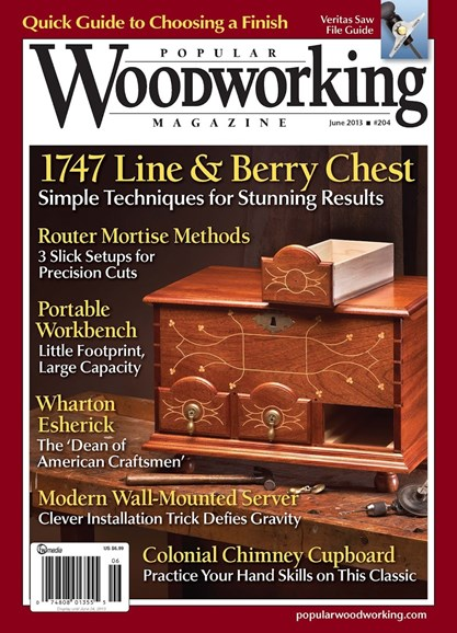 Popular Woodworking Cover - 5/1/2013