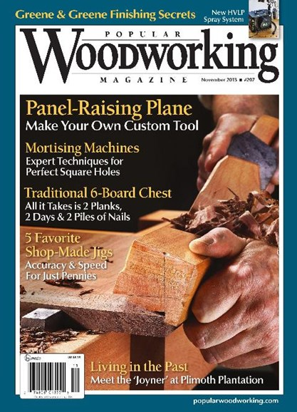 Popular Woodworking Cover - 11/1/2013