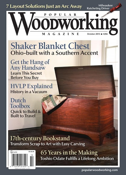 Popular Woodworking Cover - 9/1/2013