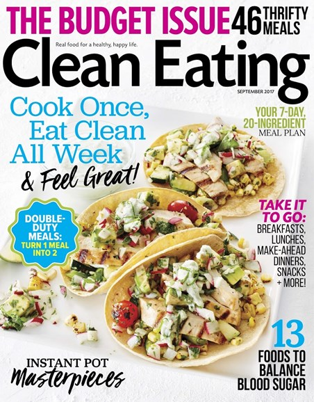 Clean Eating Cover - 9/1/2017