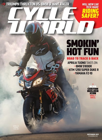 Cycle World Cover - 9/1/2017