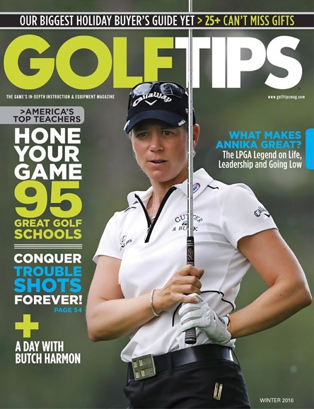Golf Tips Cover - 12/1/2015