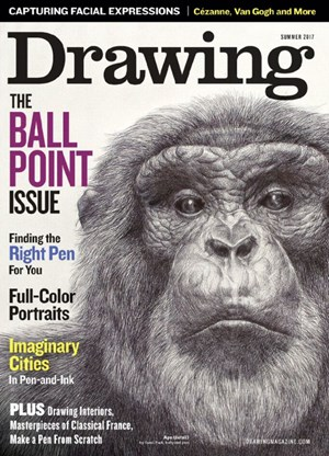 American Artist Drawing Magazine | 7/1/2017 Cover