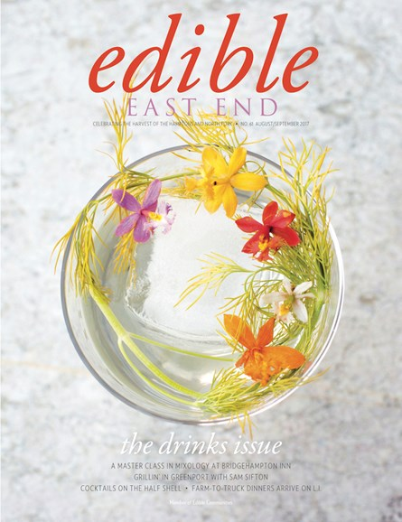 Edible East End Cover - 8/1/2017