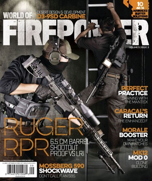 World of Firepower Cover - 9/1/2017