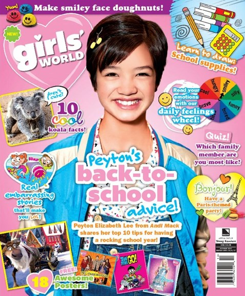 Girls' World Cover - 10/1/2017