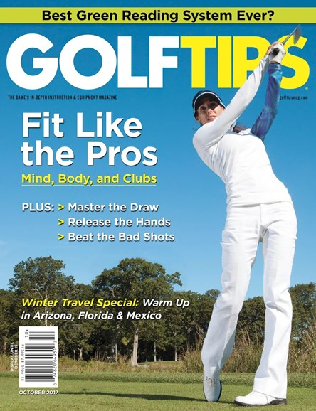 Golf Tips Cover - 10/1/2017