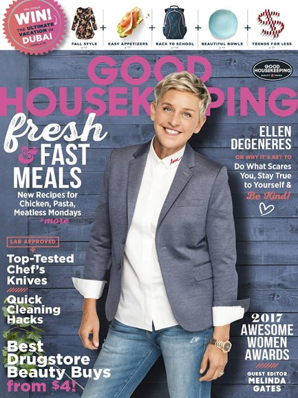 Good Housekeeping Cover - 9/1/2017