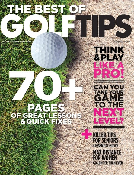 Golf Tips Cover - 10/1/2015