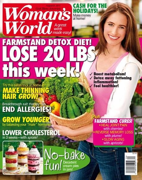 Woman's World Cover - 8/21/2017