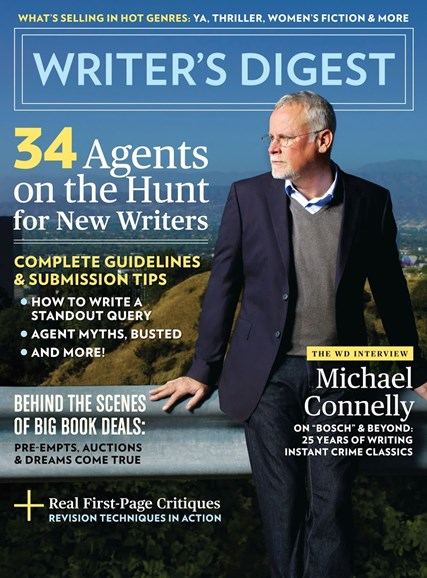 Writer's Digest Cover - 10/1/2017