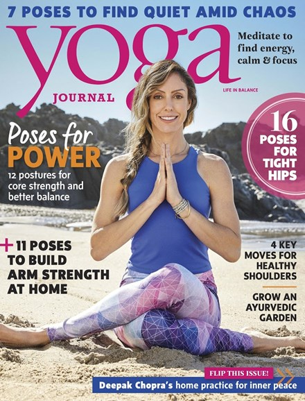 Yoga Journal Cover - 4/1/2017