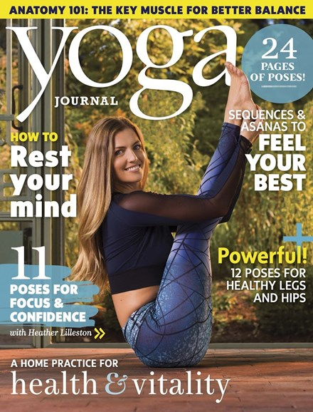 Yoga Journal Cover - 1/1/2017