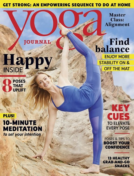 Yoga Journal Cover - 7/1/2017