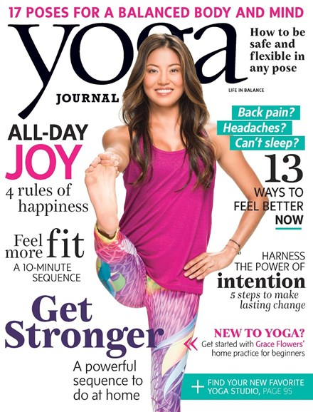 Yoga Journal Cover - 1/1/2016