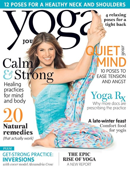 Yoga Journal Cover - 3/1/2016