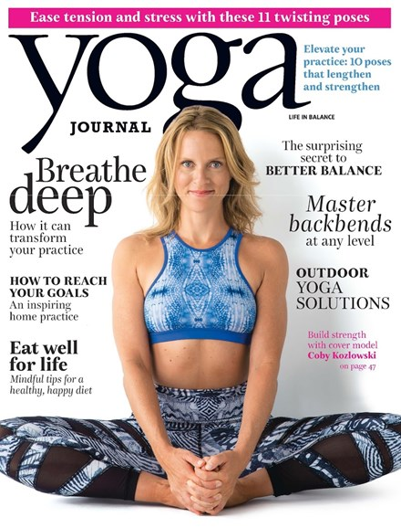 Yoga Journal Cover - 7/1/2015