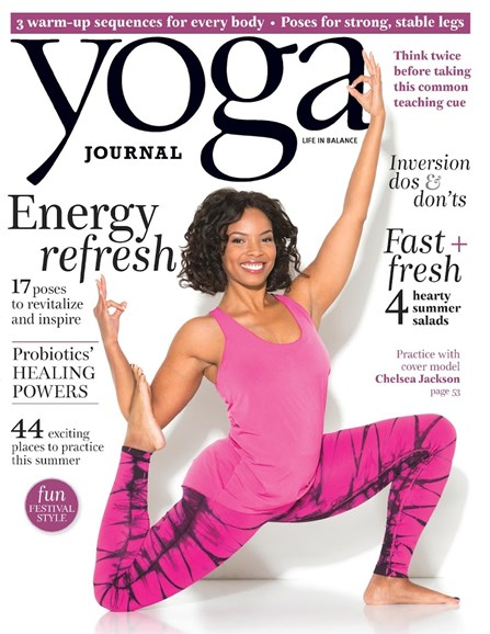 Yoga Journal Cover - 6/1/2015