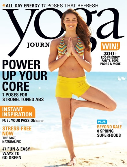 Yoga Journal Cover - 4/1/2014