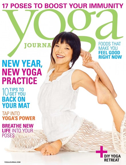 Yoga Journal Cover - 1/1/2014