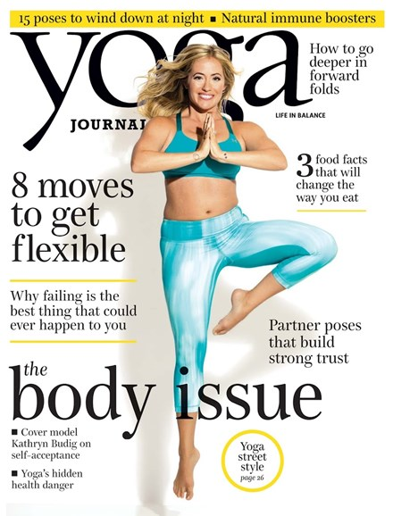 Yoga Journal Cover - 10/1/2014