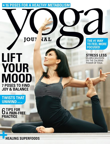 Yoga Journal Cover - 9/1/2014