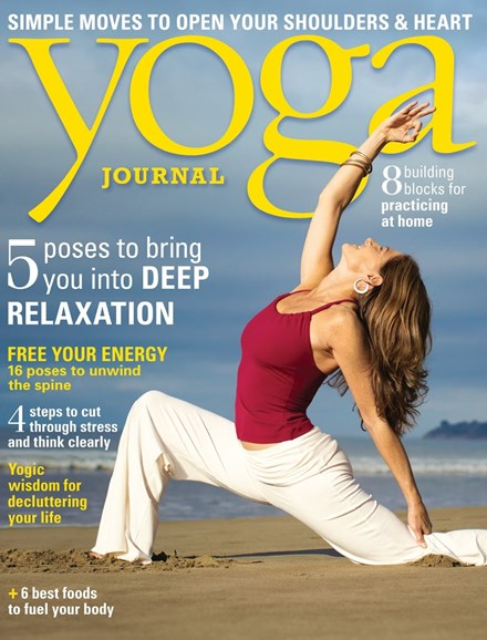 Yoga Journal Cover - 3/1/2013