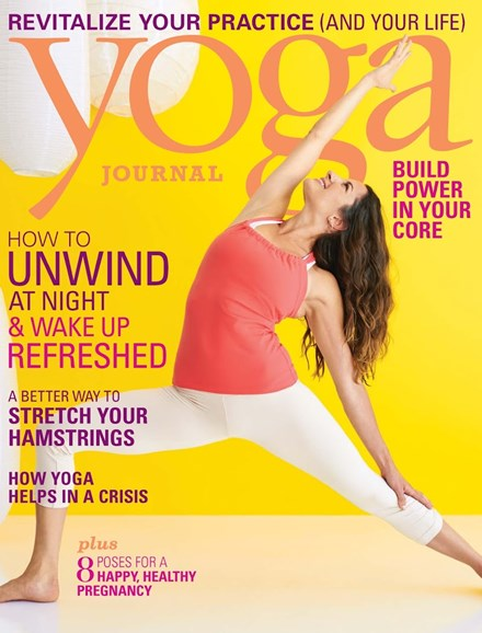 Yoga Journal Cover - 11/1/2013