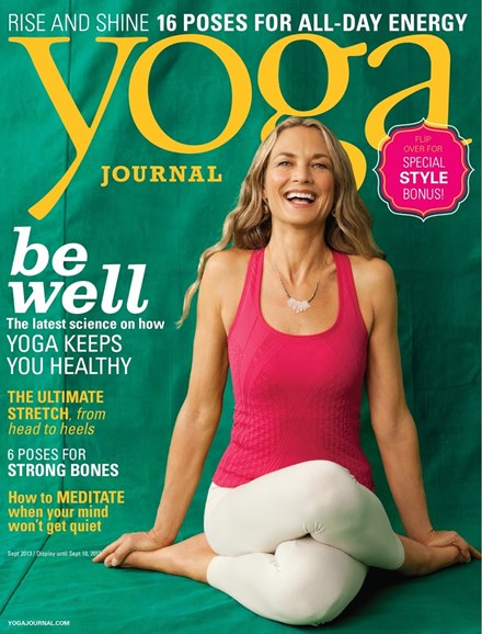 Yoga Journal Cover - 9/1/2013