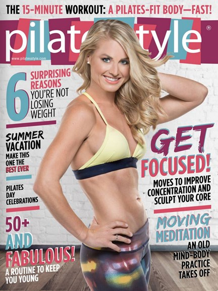 Pilates Style Cover - 7/1/2015